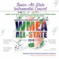 Washington WMEA 2018 Conference Feb. 16-18, 2018 Junior All State Instrumental Concert CD/DVD