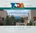 TCDA Texas Choral Directors Association Elementary Honor Choir CD and DVD 7-23-2016
