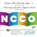 NCCO 2019- National Collegiate Choral Organization : Georgia State University Singers & The University of Louisville Collegiate Chorale CD