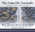 Cedarville University Showcase Honor Band, Choir & Orchestra 2/17/2018 CD