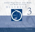 Ohio Music Education Association OMEA District 3 Jr. High Honors Band, Choir, Jazz 2-25-2017 CD