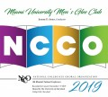 NCCO 2019 - National Collegiate Choral Organization : Miami University Men's Glee Club DVD
