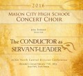 ACDA North Central Division Conference 2016 Mason City High School Concert Choir