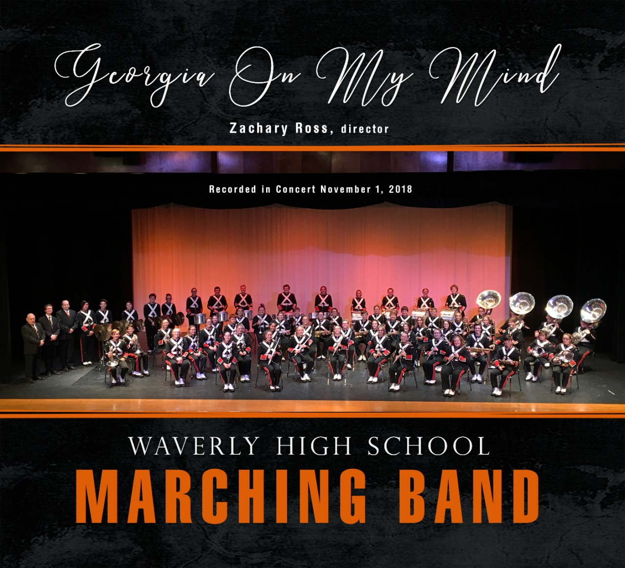 Waverly High School Marching Band 11/1/2018 CD - Soundwaves