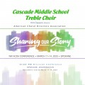 ACDA Northwestern 2020 Cascade Middle School Treble Choir CD