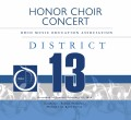 Ohio MEA District 13 Honors Chorus 2-22-2020  CD