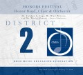 Ohio OMEA District 2 High School Band, Choir & Orchestra Festival 2/17/2018 CD