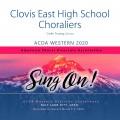 ACDA Western 2020 Clovis East HS Choraliers CD