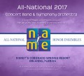 NAfME All-National 2017 Concert Band & Symphony Orchestra MP3 November 29, 2017
