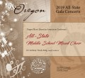 Oregon OMEA 2019 Middle School All-State Mixed Choir 02-14-19 CD/DVD