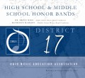 Ohio OMEA 2019 District 17 High School and Middle School Honor Bands 3-16-2019 CD