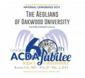 ACDA 2019 National - Oakwood University Aeolians CD/DVD