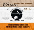 Oregon Music Educators Association 2017 OMEA Middle School All State Band and Orchestra CD/DVD