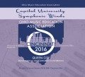 Ohio OMEA 2016 Capital University Symphonic Winds