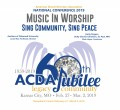 ACDA 2019 National - Music in Worship CD/DVD