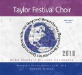 ACDA Southern Division 2018  Taylor Festival Singers MP3