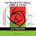 ACDA Western Division 2018 Westminster Chorus March 14-17, 2018 CD