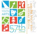 Michigan Youth Arts Festival MYAF 2019 MSVMA 1 PM Vocal and Solo & Ensemble  5-10-2019 Double CD