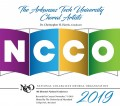 NCCO 2019- National Collegiate Choral Organization : Arkansas Tech University Choral Arts CD