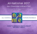 NAfME All-National 2017 Four Ensemble MP3 Set November 28-29, 2017