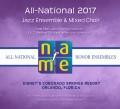 NAfME All-National 2017 Four Ensemble MP3 Set November 28-29, 2017