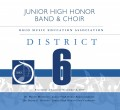 Ohio OMEA District 6 JH/MS Honors Band & Choir Concert 11-8-2019 CD