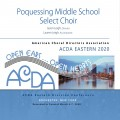 ACDA Eastern 2020 Poquessing Middle School Select Choir CDs, DVDs, and Combo Sets