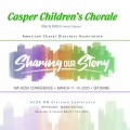 ACDA Northwestern 2020 Casper Children's Choir CDs, DVDs, and Combo Sets