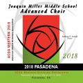 ACDA Western Division 2018 Miller Middle School Advanced Choir March 14-17, 2018 CD