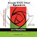 ACDA Western Division 2018 Kennedy Middle School Dynamics March 14-17, 2018 CD/DVD
