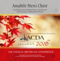 ACDA Michigan 2016 Amabile Men's Choir