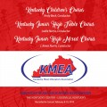 2018 Kentucky Music Educators Association KMEA Feb. 8-10, 2018 Children's Chorus, Jr. High Mixed Chorus & Treble Chorus CD/DVD