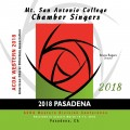 ACDA Western Division 2018 Mt. San Antonio College Chamber Singers March 14-17, 2018 CD/DVD