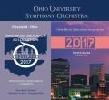 Ohio Music Education Association OMEA 2017 Ohio University Orchestra Feb. 2-4, 2017 CD
