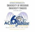 ACDA 2019 National - University of Missouri CD