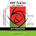 ACDA Western Division 2018 VOX Femina March 14-17, 2018 CD