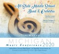 Michigan MSBOA 2020 All-State Middle School Band & All-State Middle School Orchestra CDs, DVDs, & Combo Sets