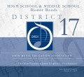 Ohio Music Education Association OMEA District 17 Middle School & High School Honor Bands 3/11/2017 CD