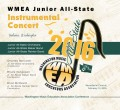 WMEA All-State 2016 Junior All-State Instrumental Concert