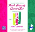 NAfME 2017 All-Eastern Temple University Concert Choir 4-8-2017 CD