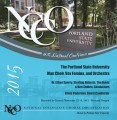 NCCO National Conference 2016 The Portland State University Man Choir Vox Femina and Orchestra