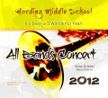 Harding Middle School All Bands Concert 2012