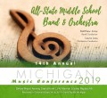 Michigan MSBOA 2019 All-State Middle School Band & Orchestra CD/DVD 1-26-19