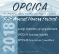 Ohio Private Colleges Instrumental Conductors Association OPCICA Band & Jazz Concert 1-21-2018 CD