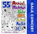 Michigan Youth Arts Festival MYAF 2017 Gala Concert: MSVMA Choral Groups & MSVMA and MSBOA Outstanding Soloists  5-19-2017 Double CD