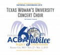 ACDA 2019 National - Texas Women's University CD/DVD