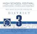 Ohio OMEA District 3 High School Honors Festival 1-19-2020 CDs, DVDs, and Combo Sets