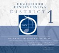 Ohio Music Education Association OMEA District 1 High School Honors Festival 2-12-2017 CD-DVD
