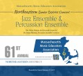 MMEA Massachusetts 2019 Northeastern Senior Festival Jazz and Percussion 1-12-2019 CD