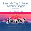 ACDA Western 2020 Riverside City College Chamber Singers CD
